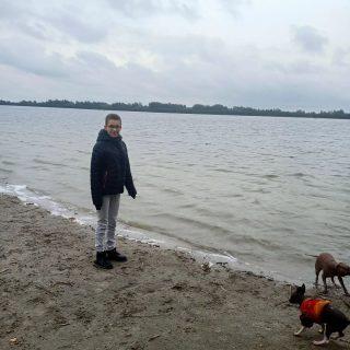 Skye, Flash en Jyn vanochtend fotoshoot gehad. Daarna heerlijk uitgeraast aan het strand......nu weer thuis en rust in de kont 😜